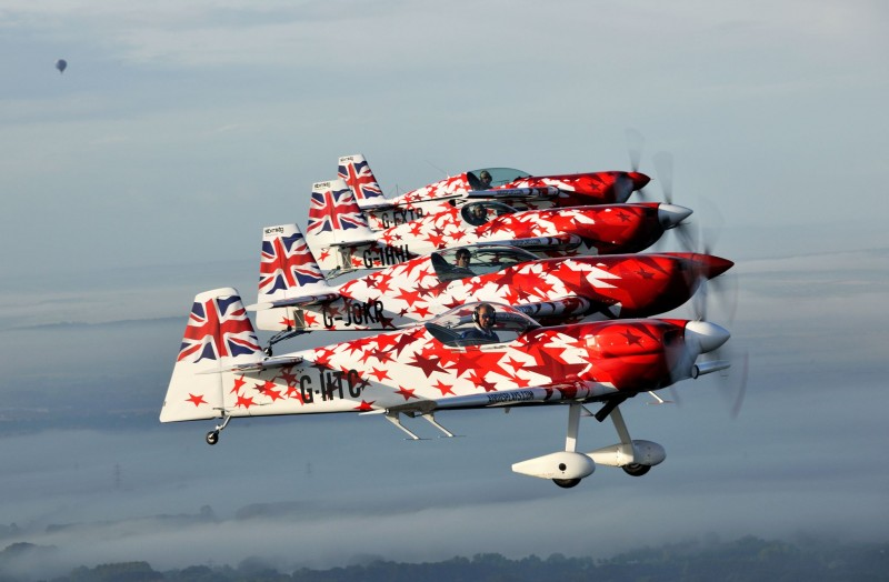 The Global Stars four-ship formation will take to the skies during Air Waves Portrush on August 31st and September 1st.