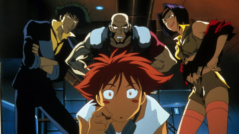 Cowboy Bebop will be shown in Flowerfield Arts Centre in partnership with Film Hub NI on Saturday 29th February at 11am
