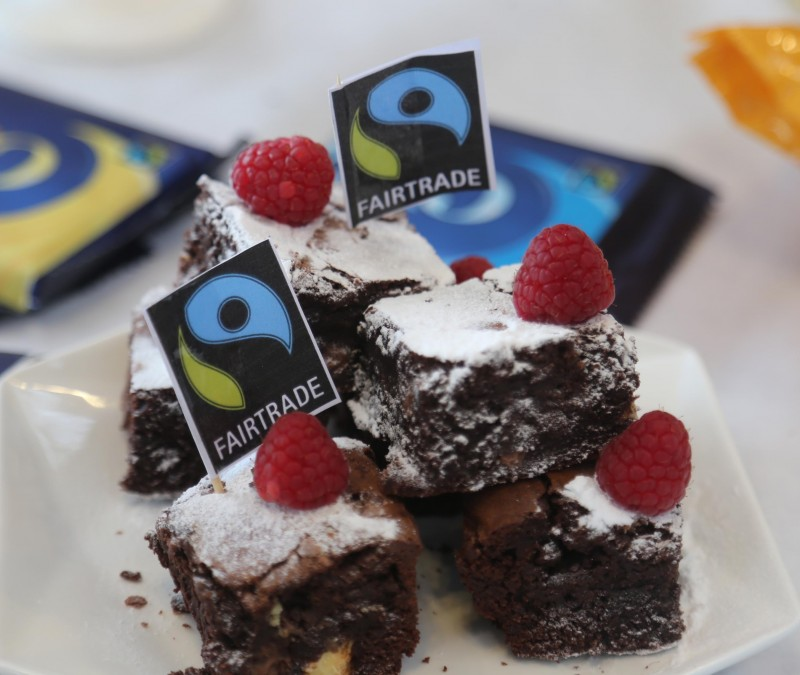 Young bakers from local schools created a variety of tasty treats using Fairtrade products for the Bake-Off competition.