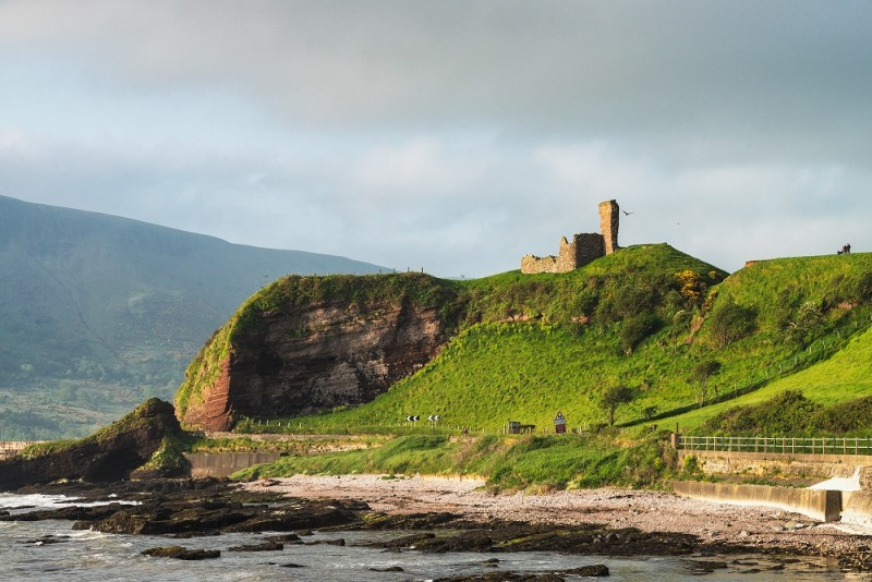 Red Bay Castle © Tourism Ireland photographed by Stefan Schnebelt​