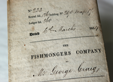 Documents from the Fishmonger's Company