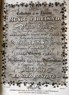 Edward Bunting's Ancient Music of Ireland