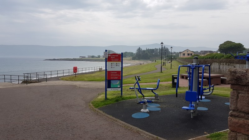 Play park at main beach entrance