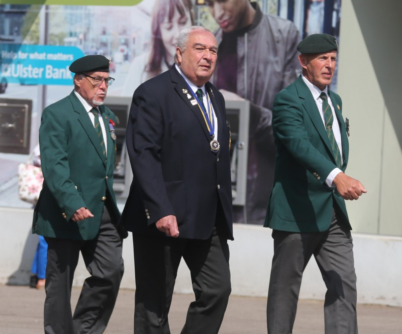 Pictured in Coleraine for the Armed Forces Day commemoration held on Monday 21st June 2021