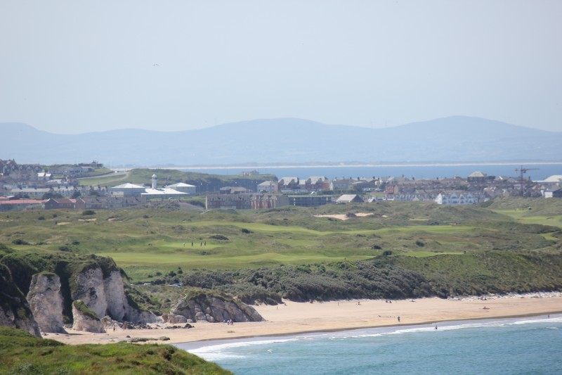 Looking westwards with Donegal in the background