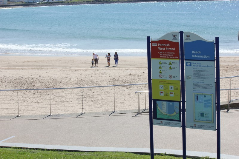 On-site Beach Safety Signage
