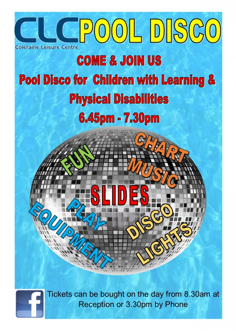 Pool Disco for Children with Learning & Physical Disabilities