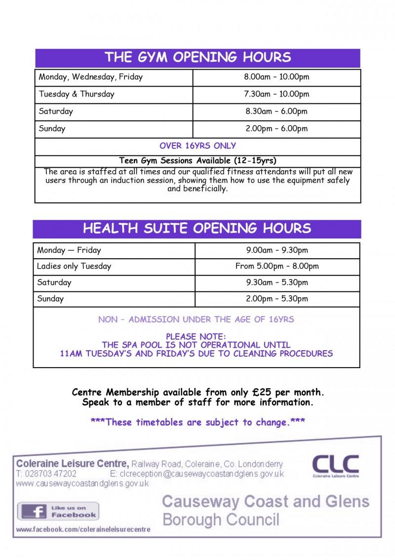 Health Suite & Gym