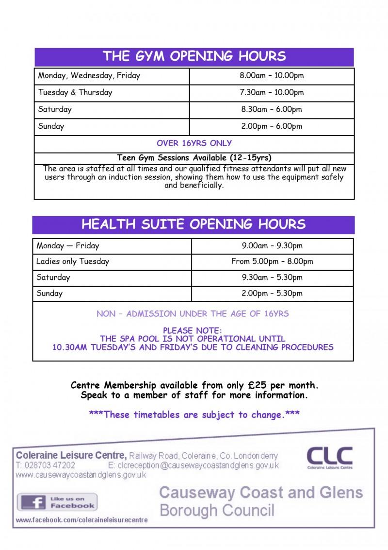 Gym & Health Suite