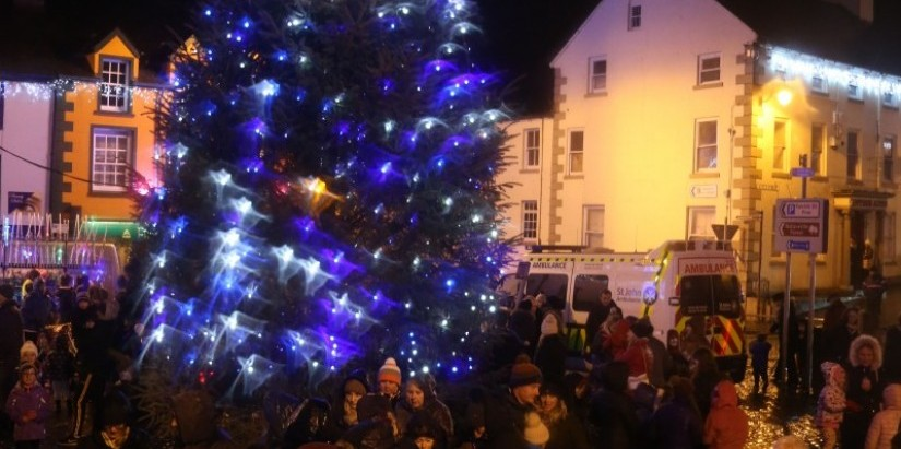 Ballycastle Christmas switch on 2017