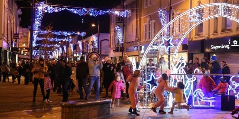 Coleraine Christmas switch on 2017
