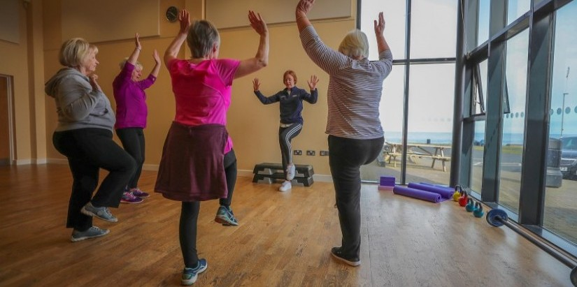 Fitness at Community Centre