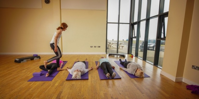 Yoga and Pilates at Community Centres