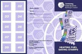 Heating Fuel Saving Stamps Card