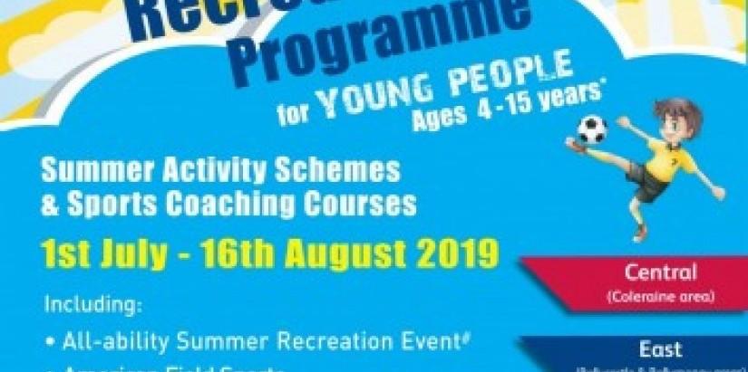 Summer Recreation Programme 2019