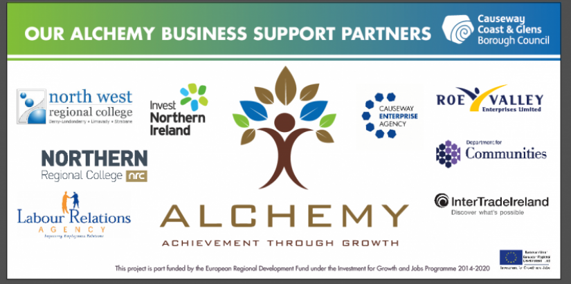 Alchemy Business Support Partners - Causeway Coast & Glens Borough