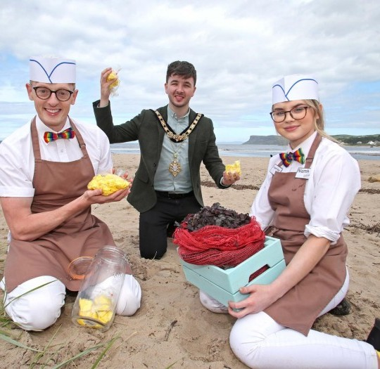 Image of Ballycastle prepares for the return of the Ould Lammas Fair