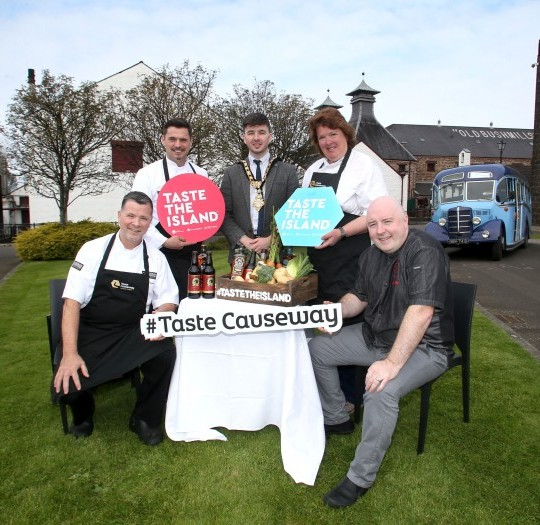 Image of All Aboard for Taste Causeway