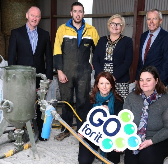 Council celebrates 200th 'Go for It' business plan