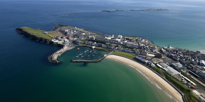 West Bay and harbour, Portrush