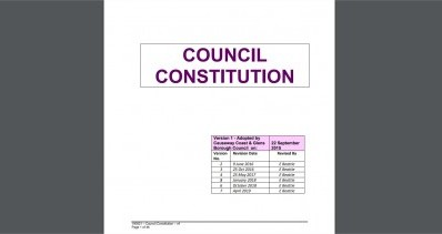 Council Constitution