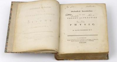 18th Century Medical Book