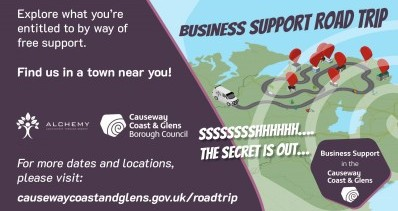 Business Support Road Trip!