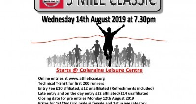Coleraine Edwin May Nissan 5 Mile Classic 2019