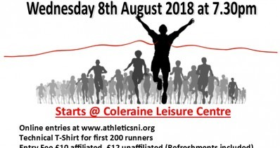 Coleraine Edwin May Nissan 5 Mile Classic - 8.8.18