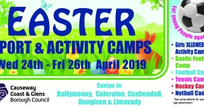 Easter 2019 Sport & Activity Camps