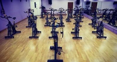 Joey Dunlop Indoor Spin Cycle Studio.