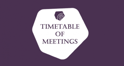 Timetable of Meetings