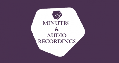 Minutes & Audio Recordings