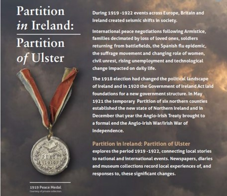 Partition in Ireland: Partition of Ulster Exhibition