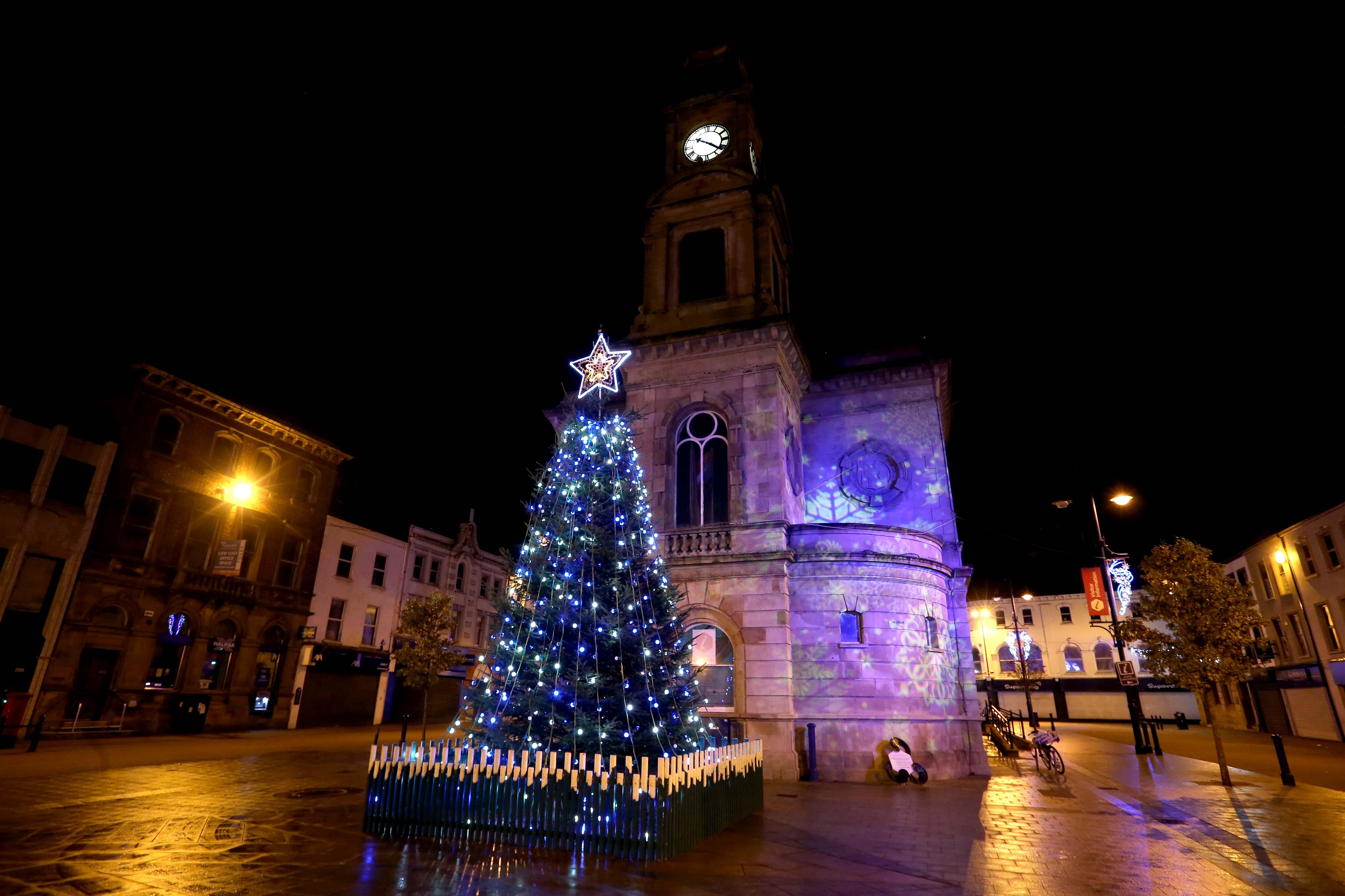 Christmas Lights Shine Brightly Across The Borough
