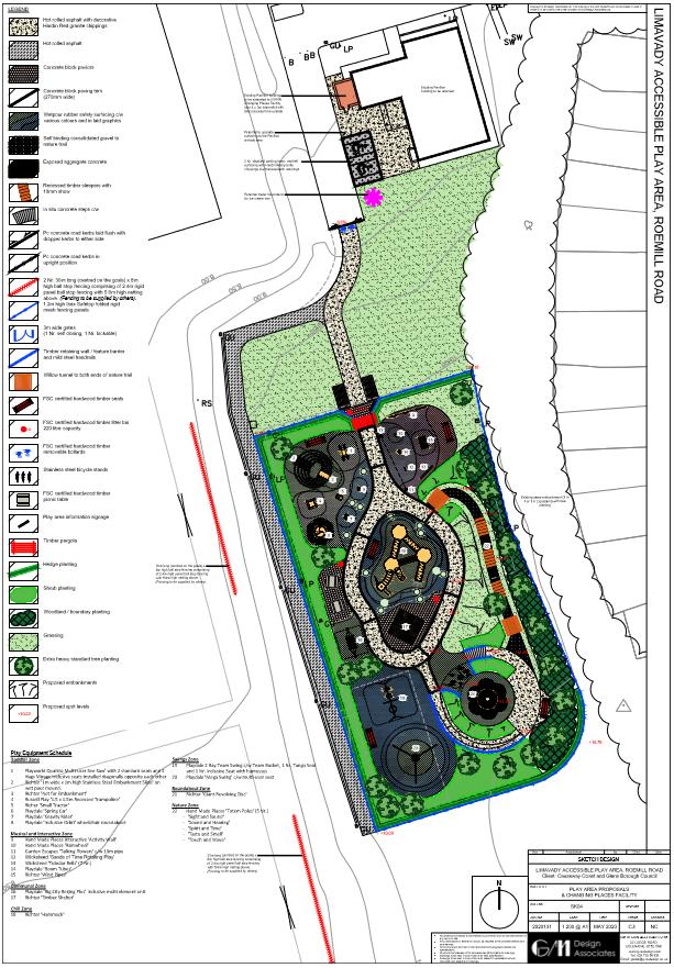Appendix 1 - Concept Design & Equipment Schedule