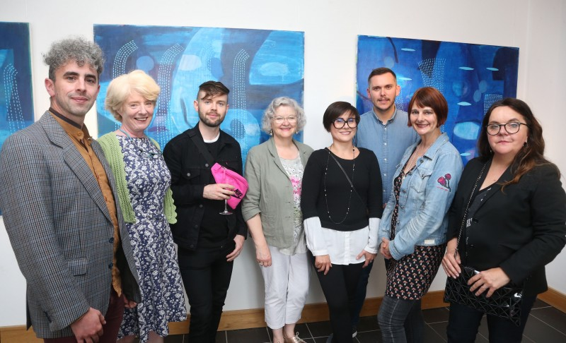 Image of artists at the launch of Over Nature 2019