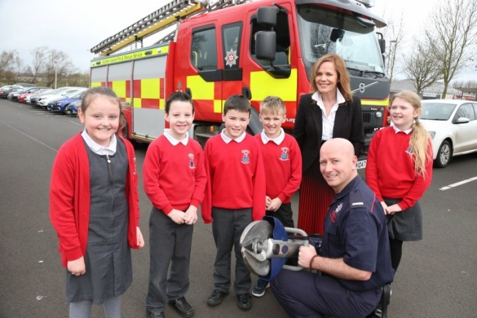 Ballysally PS showcases new scheme to inspire children for the future