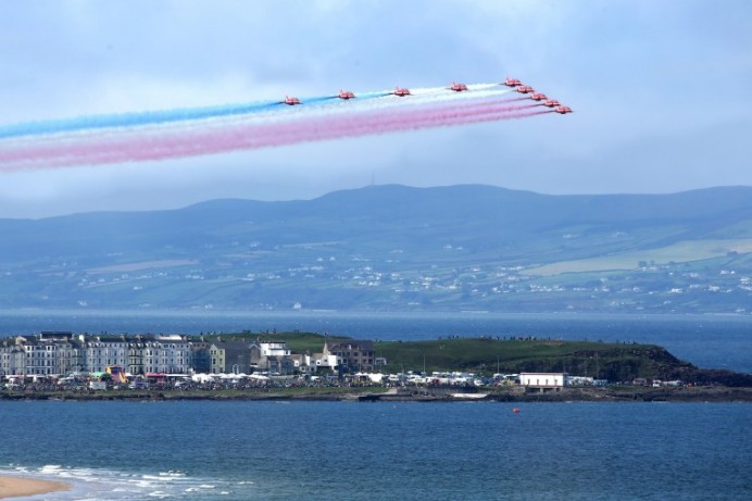 Celebrating 100 years of the RAF at Air Waves Portrush