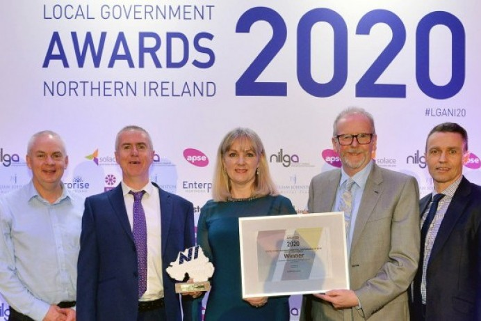 Causeway Coast and Glens Borough Council wins 'Excellence in Environmental Sustainability' award