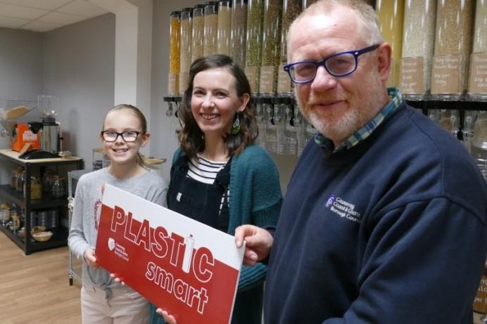 PlasticSmart award for The Balanced Pantry in Ballymoney