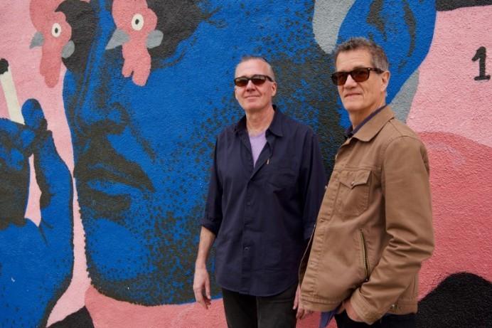 Steely Dan jazz duo on stage in Portstewart