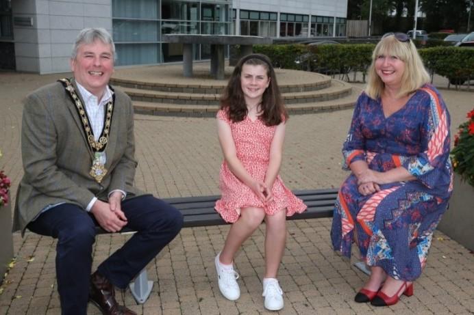 Mayor's reception held at Cloonavin for Spirit of Northern Ireland Youth Award winner
