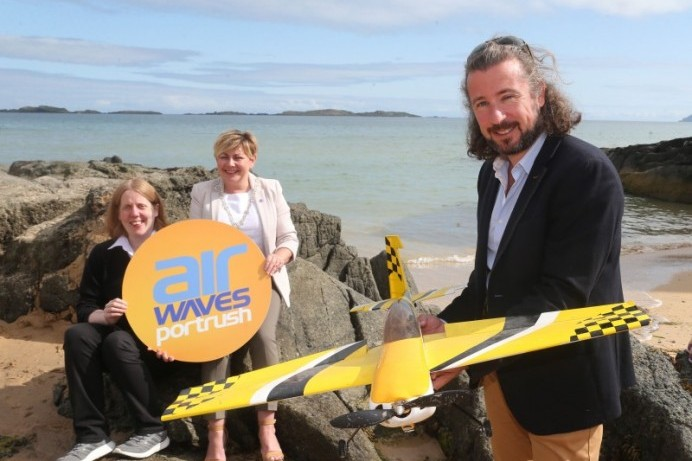 STEM Village at Air Waves Portrush  ready for take-off with MATRIX Sponsorship