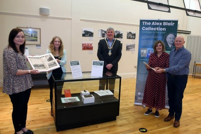 'A bridge to the past' – new Alex Blair Collection exhibition opens at Ballymoney Museum