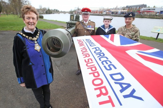 Coleraine to host regional Armed Forces Day celebration