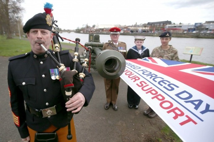 Challenger Battle Tank coming to Coleraine for Armed Forces Day