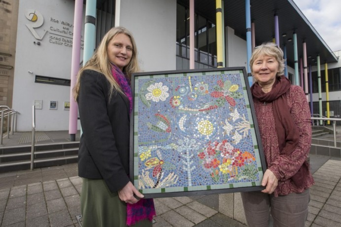 Art work created by Limavady residents goes on permanent display in Roe Valley Arts and Cultural Centre