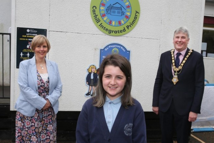 Carhill Integrated Primary School pupil wins innovation challenge