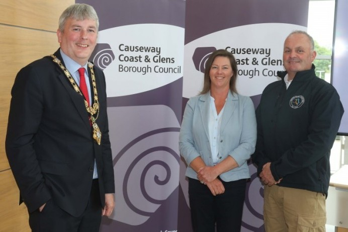 Mayor congratulates recipients of Causeway Coast and Glens Borough Council's Enterprise Fund